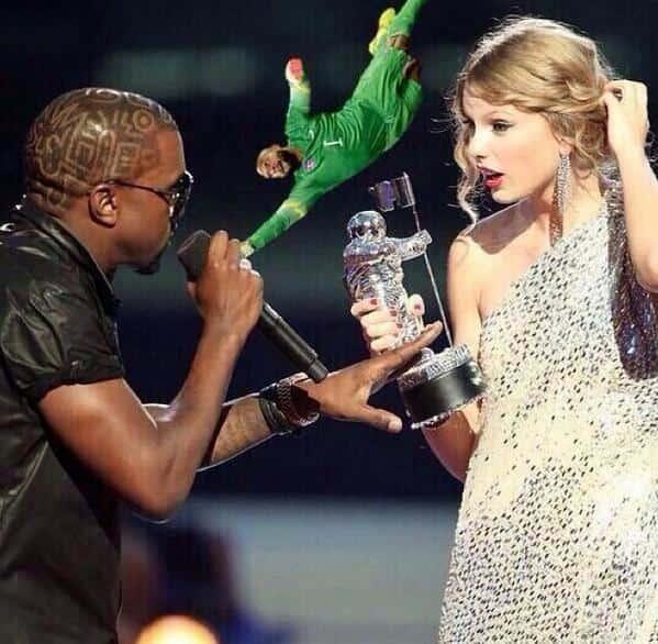 Tim Howard Saves Taylor From Kanye!
