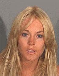 Lindsay Lohan Mug Shot