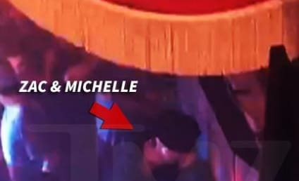 Zac Efron and Michelle Rodriguez Spotted Making Out in a Club; Is She a Bad Influence?