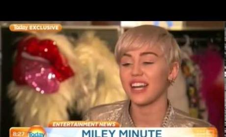Miley Cyrus Talks Justin Bieber