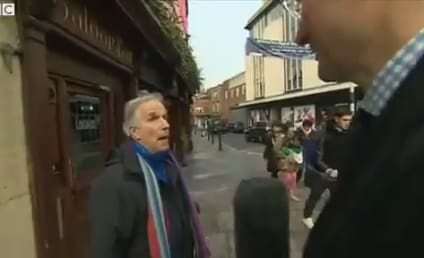 BBC Reporter Asks Locals About Airport Expansion, Accidentally Interviews Henry Winkler