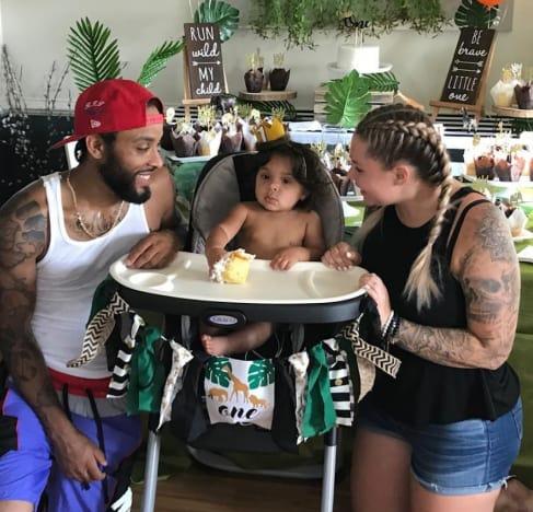 Kailyn y su familia