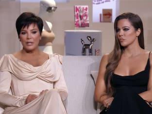 Kris Jenner and Khloe Kardashian at the Reunion