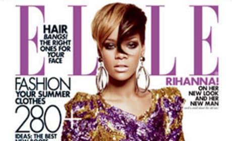 Rihanna Elle Cover