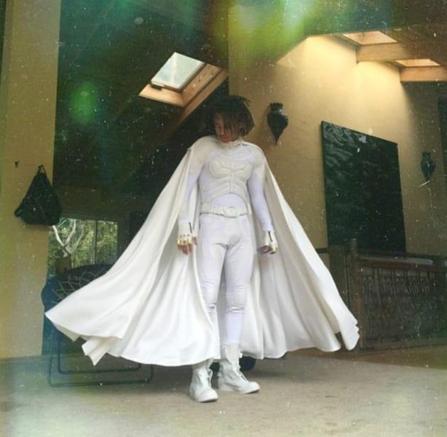 Jaden Smith Wears Batman Costume To Quot Protect Everyone
