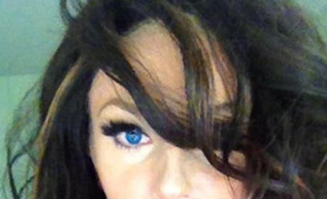 Do you like Courtney Stodden with brown hair?