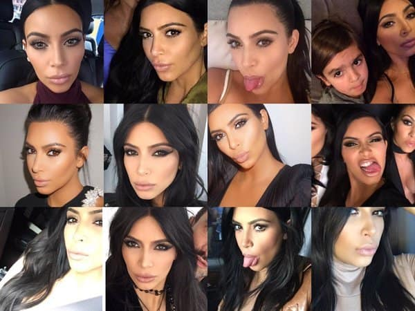 The Funny Faces of Kim Kardashian