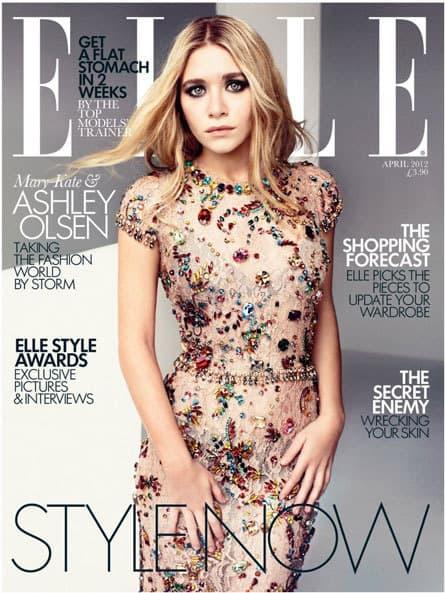 Ashley Olsen Elle Cover