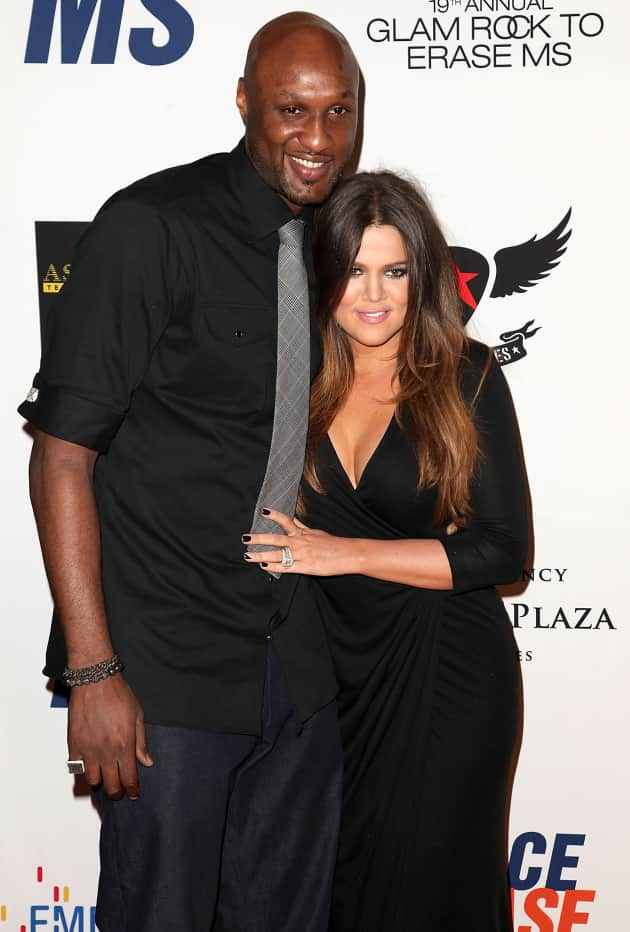 Khloe and Lamar: 19th Annual Race to Erase MS