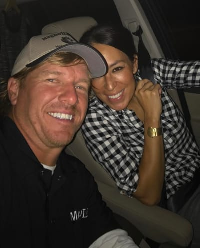 Chip Gaines and Joanna Gaines on a Date