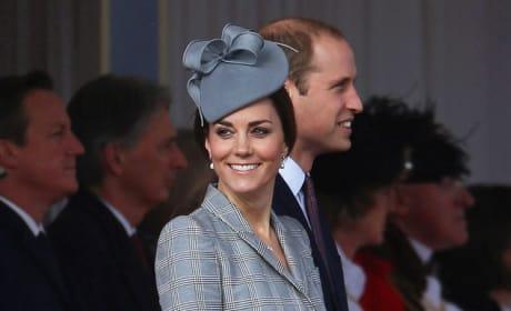 Kate Middleton Smiling Again