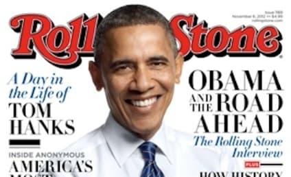 """Barack Obama Labels Mitt Romney a """"Bullsh-tter"""" in Rolling Stone"""