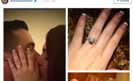 Deena Nicole Cortese Announces Engagement on Instagram