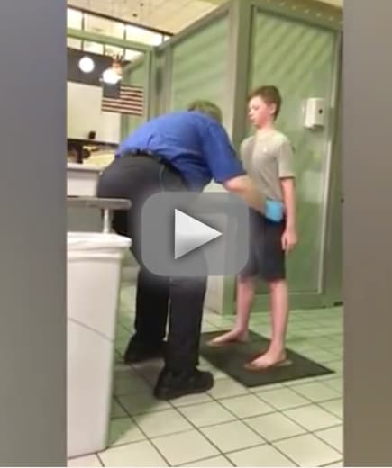 Mother blasts tsa for horrifying pat down of special needs son