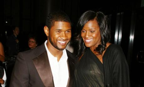 Usher and Tameka Raymond
