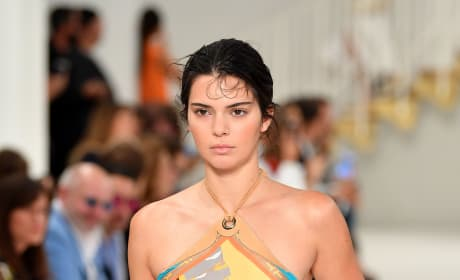 Kendall Jenner is in Milan