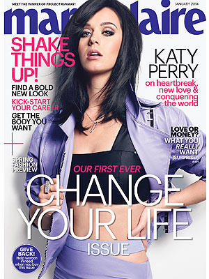 Katy Perry Marie Clarie Cover