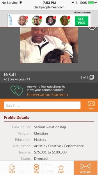 Will holma n fl dating profile