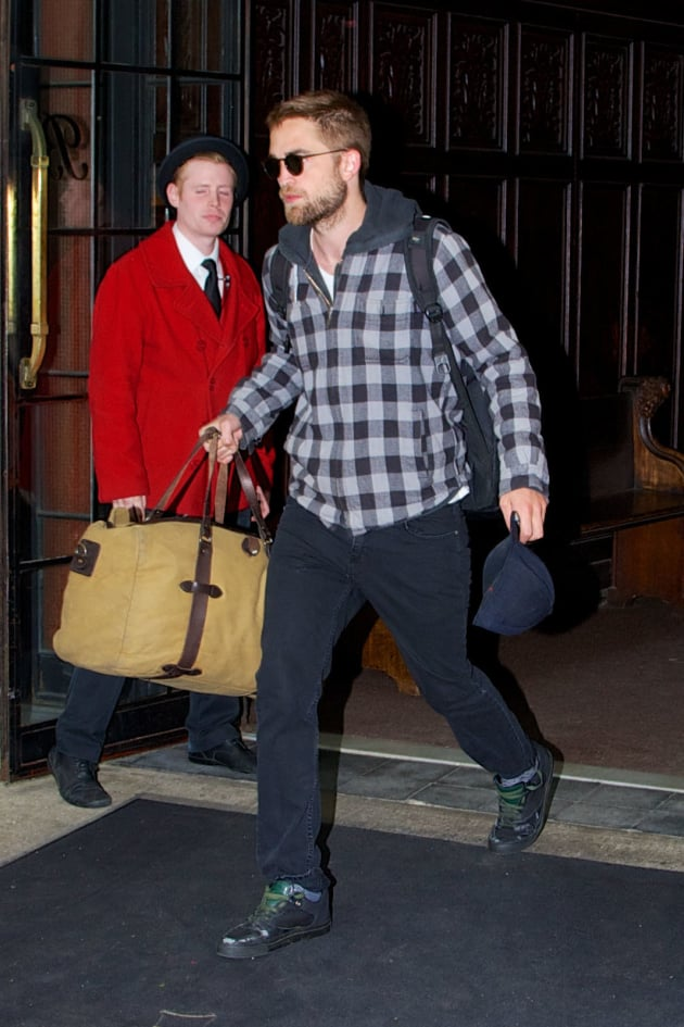 Robert Pattinson in Manhattan