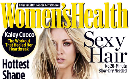 Kaley Cuoco on Women's Health