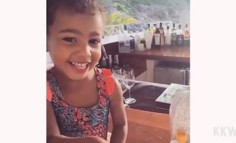 Kim Kardashian Shares Sweet Video of North West