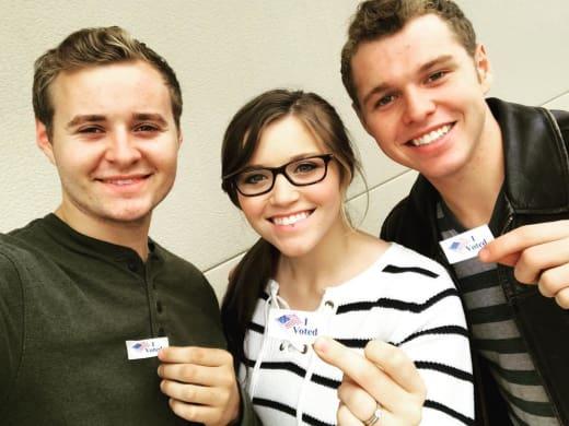 Joy-Anna Duggar Votes Republican