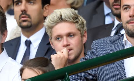 Niall Horan At Wimbledon