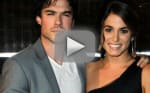Ian Somerhalder, Nikki Reed at Comic-Con