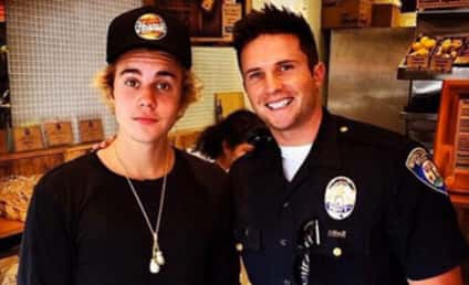 Justin Bieber Cops to Positive Relationship with Police: See the Photo!