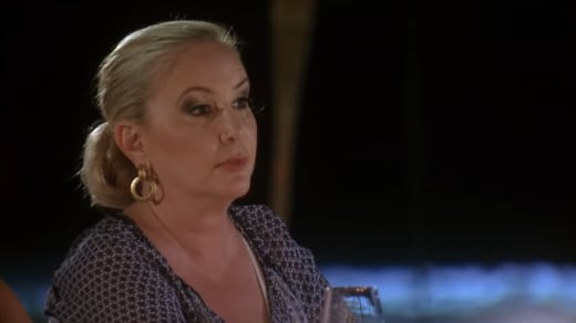 Shannon Beador at Dinner in Jamaica