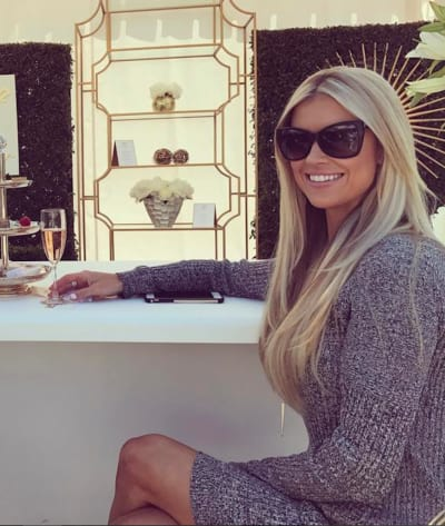 Christina El Moussa Just Chills
