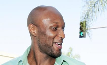Lamar Odom Looks Healthy! Ready For Fashion Week!