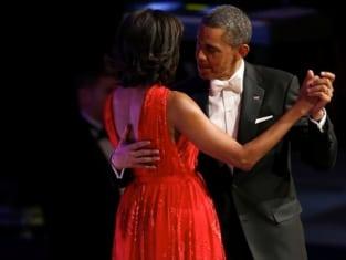 Michelle Obama Inauguration Dress Picture