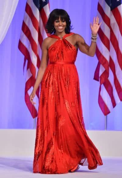 Jason Wu Dress (Michelle Obama Inaugural Ball 2013)