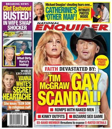 Tim McGraw Gay Cover