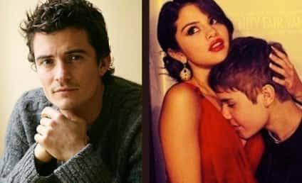 Justin Bieber: FURIOUS at Selena Gomez For Orlando Bloom Flirting!