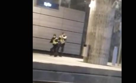 Police Officer Does Parkour