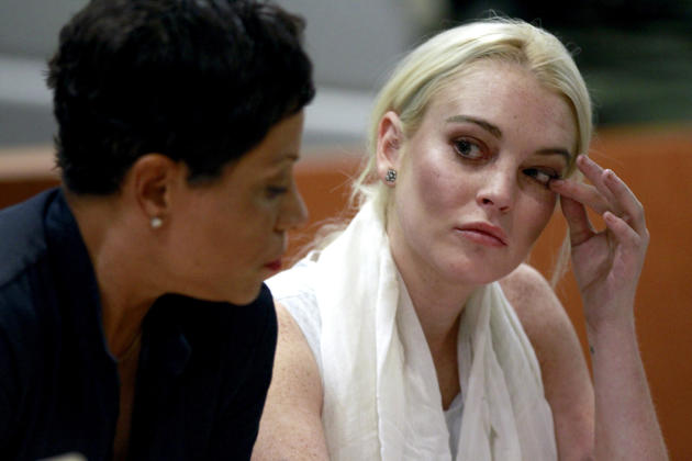 Lindsay in Court (Again)