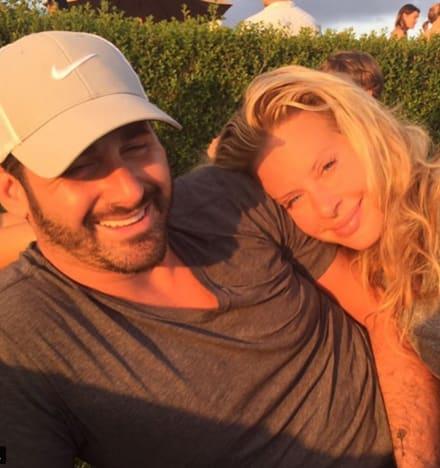 Dina Manzo and David Cantin