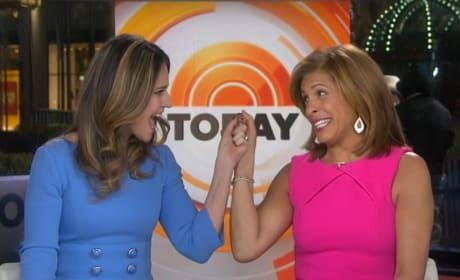Savannah Guthrie and Hoda Kotb Host Today
