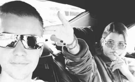 Justin Bieber and Sofia Richie