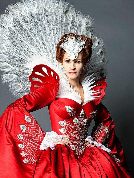 Julia Roberts as The Evil Queen
