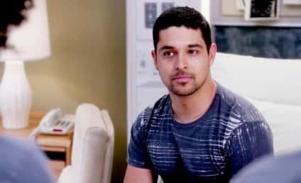 Wilmer Valderrama on Grey's Anatomy: Hello, Handsome!