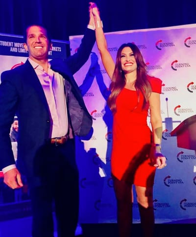 Kimberly Guilfoyle Flashes a Huge Ring