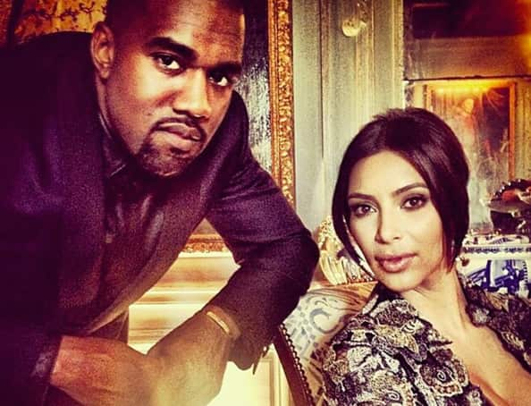 Kim Kardashian and Kanye West in Happier Times