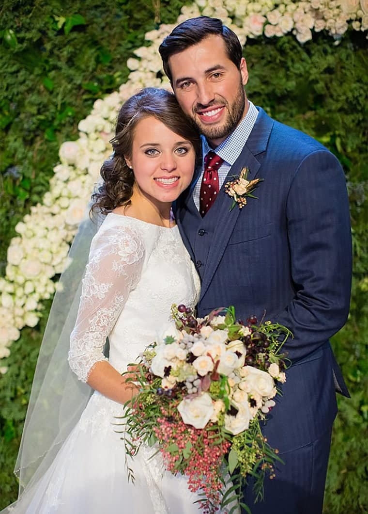 Jinger Duggar Wedding Dress Photo