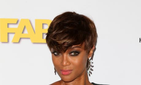 Tyra Banks Works It