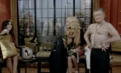 Regis Philbin: Shirtless For Snooki!