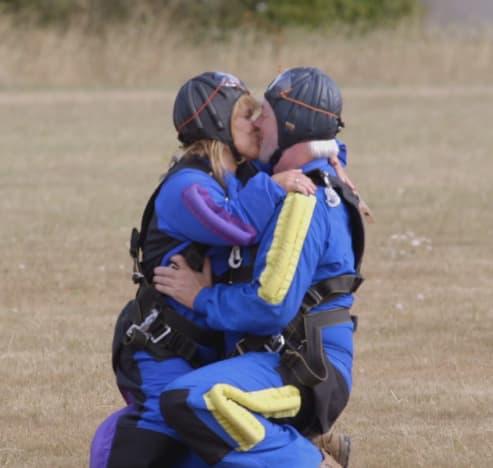 Amy Roloff Kisses Chris Marek
