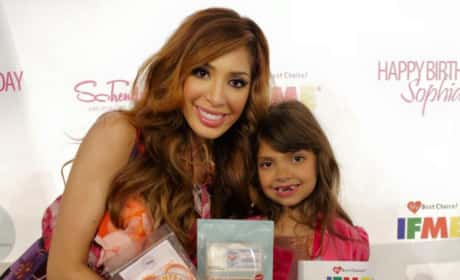 Farrah Abraham Celebrates Sophia's 7th Birthday
